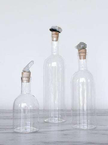 Crystal Cluster Decanter