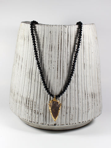 Shimmer Arrowhead Necklace