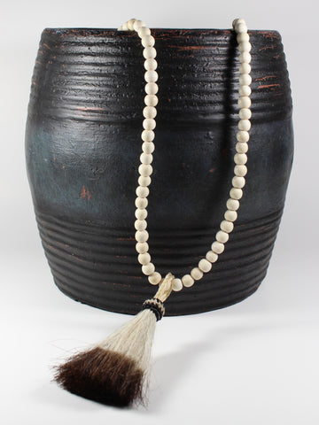 Horsehair Tassel Necklace