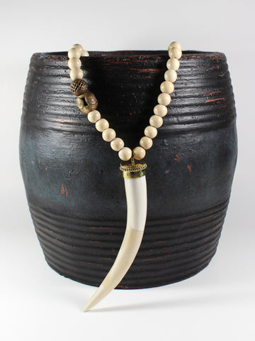 Ivory Horn Necklace