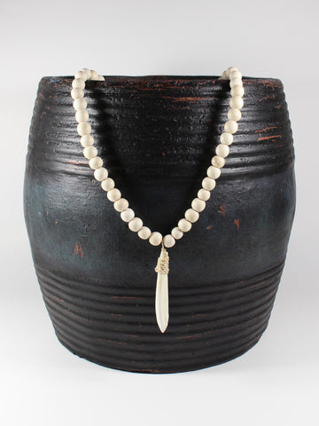 Boar's Tooth Necklace