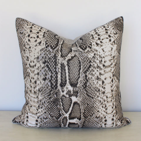 Lizard Chic Pillow