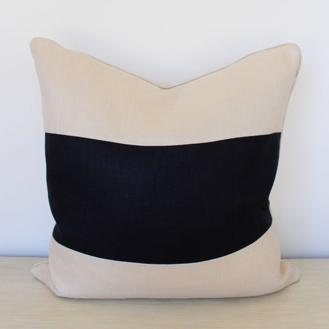 Savage Beauty Stripe Pillow