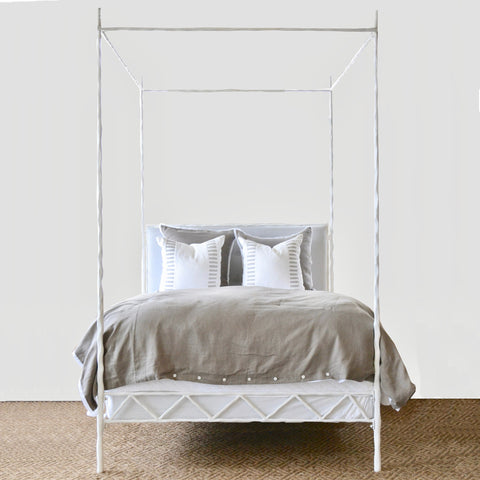Queen Frazier Canopy Bed