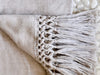 Macrame Alpaca Throw