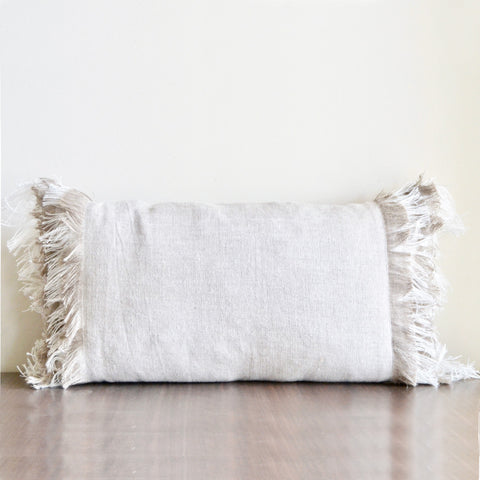 Thread Fringe Pillow