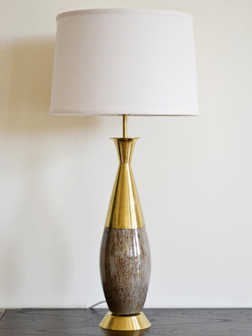 Brass Cafe Table Lamp