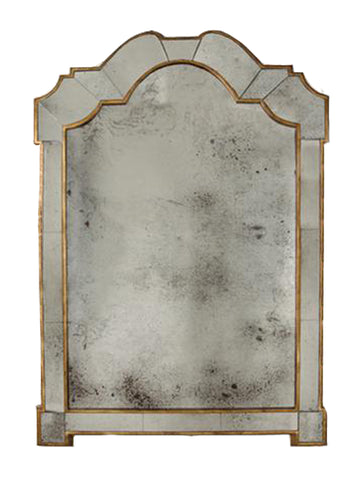 Antiqued Venetian Mirror