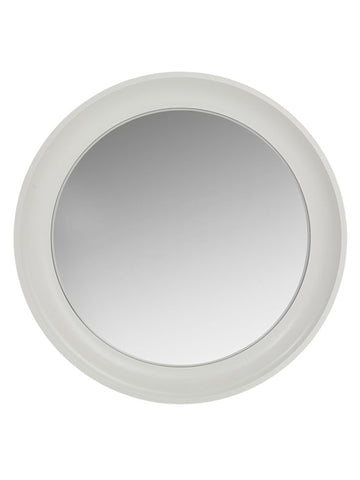White Convex Mirror