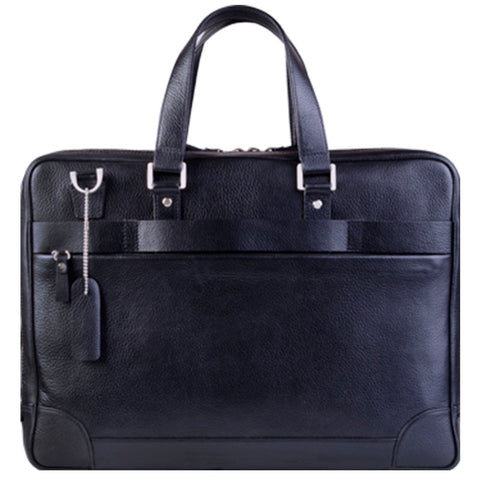 Banker Leather Briefcase