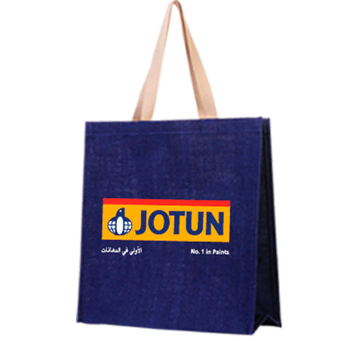 Navy Blue Jute Bag