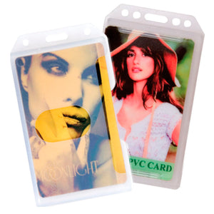 Portrait Rigid Card Holder