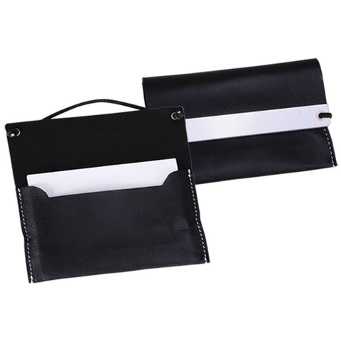Black Leather Business Card Wallet