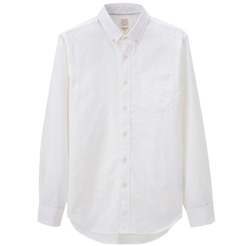 Giordano Long Sleeve Oxford Shirt