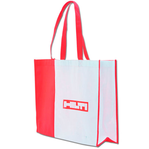 Red - White Non Woven Bag