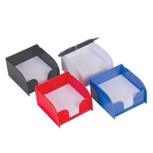 Blue Square Memo Holder