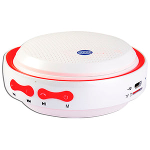 White - Red Wireless Speaker