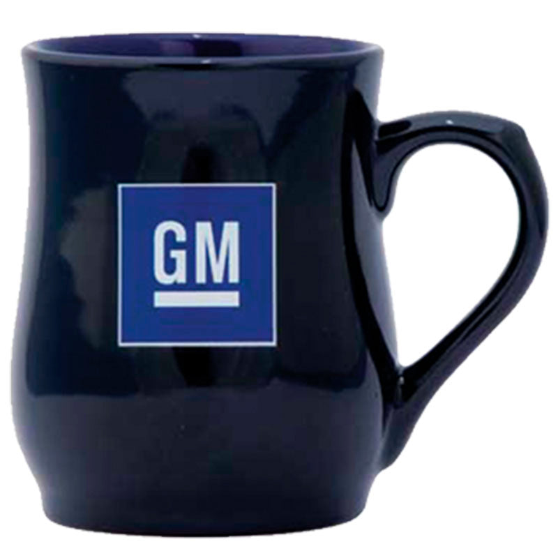 Black - Blue Ceramic Mug