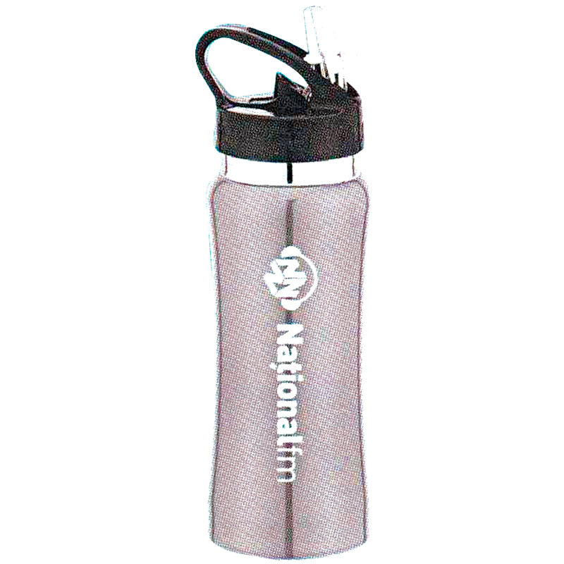 Silver Stainless Steel Water Bottle