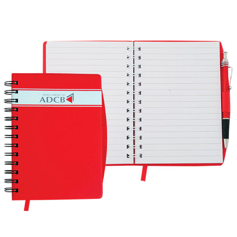 Red Spiral Notebook