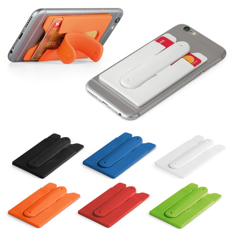 CARVER. Smartphone card holder