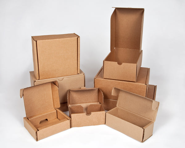 CB-4 - Corrugated Boxes 21x15x17 cms
