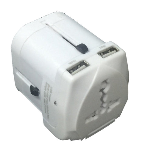 White Travel Adaptor