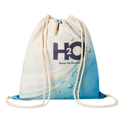 Custom Made Cotton Drawstring Bags