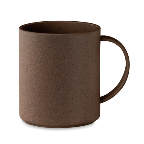 Mug in coffee husk/ PP 300ml