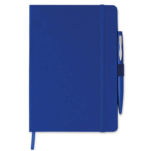 A5 note book with pen