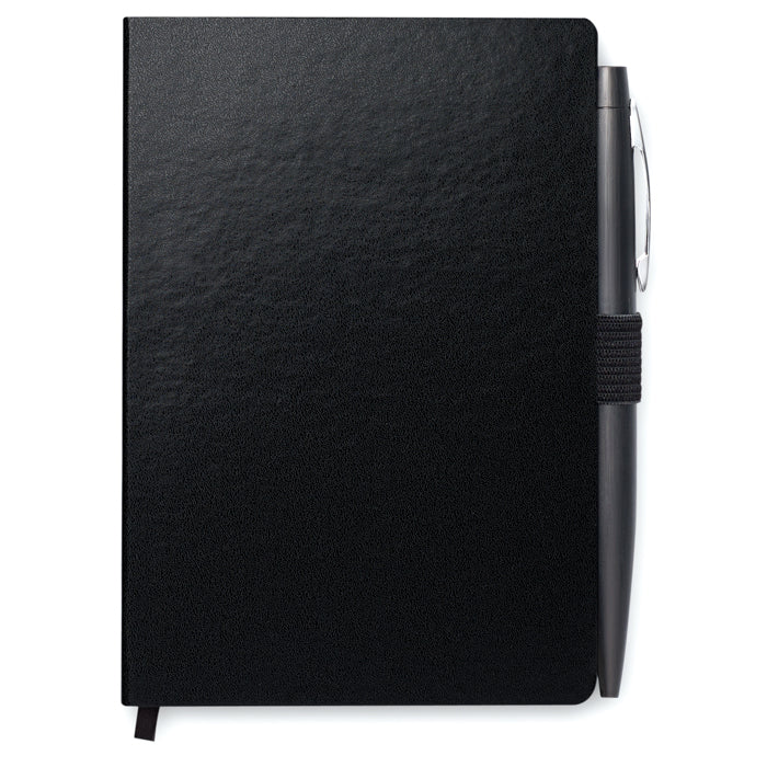 A6 notebook with pen
