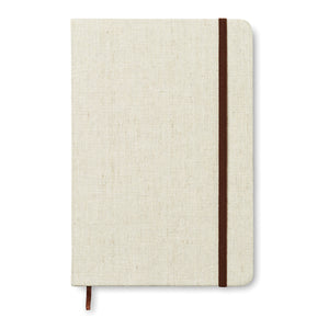 A5 notebook canvas covered