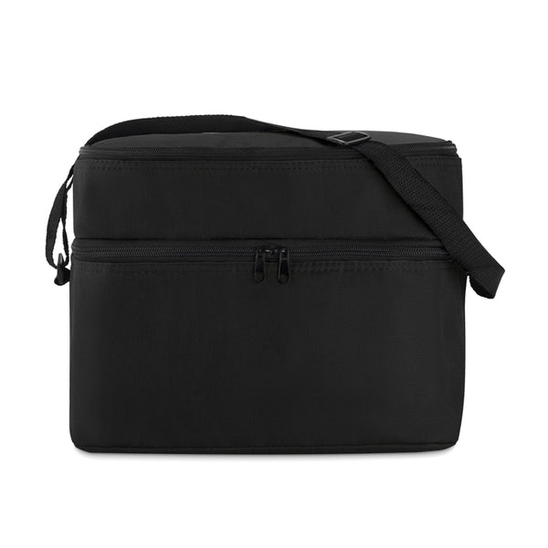Cooler bag with 2 compartments
