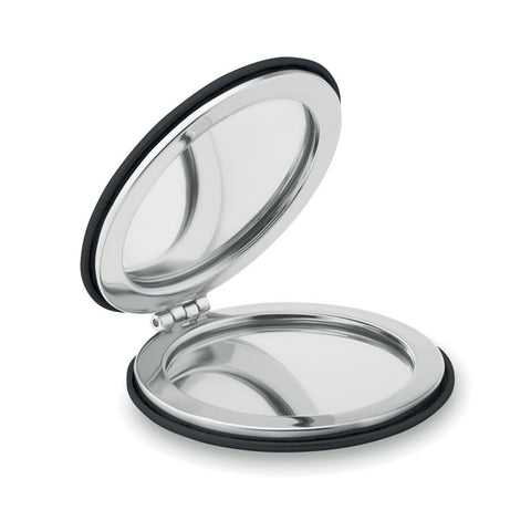 Round PU Pocket Mirror