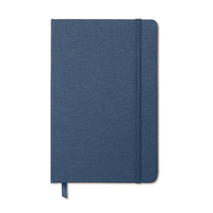 Two tone fabric cover notebook