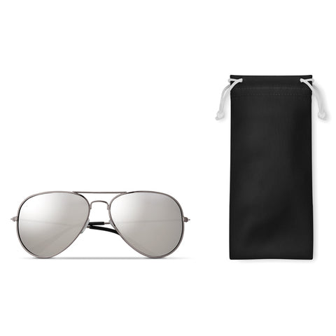 Sunglasses in microfiber pouch