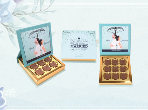 Neo 9 Pcs  Chocolate in Photo Frame Box
