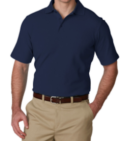 Solstice-Navy Blue Somji 41° Dri Fit Polo Shirt