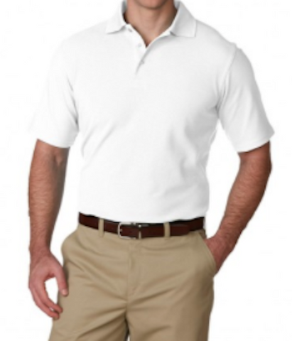 Solstice-White Somji 41° Dri Fit Polo Shirt