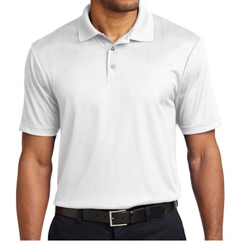 Mercury- White Somji 41° Dri Fit Polo Shirt