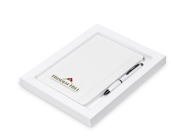 Notebook and Pen Gift Set