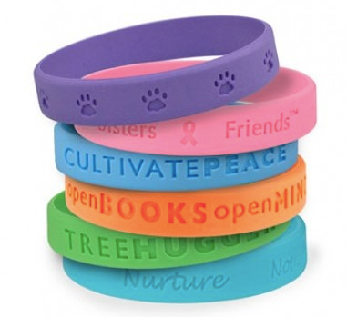 Custom Made Silicone Wristband