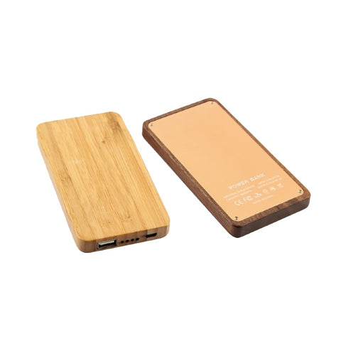Wooden Powerbank - 6,000 mAh