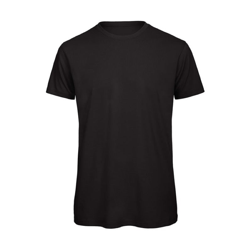 Black Short Sleeve Round Neck Shirt