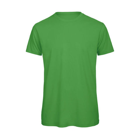 Green Short Sleeve Round Neck Shirt