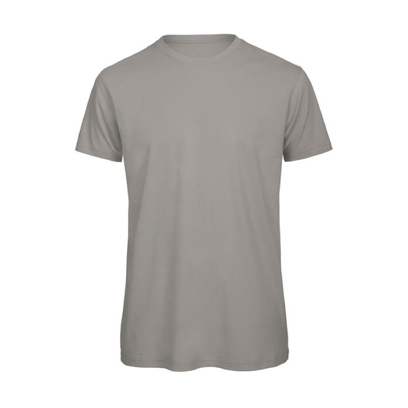Light Grey Short Sleeve Round Neck Shirt