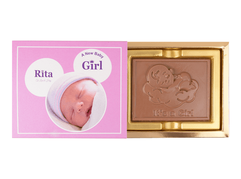 Its A Girl Chocolate