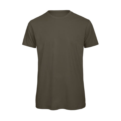 Brown Short Sleeve Round Neck Shirt