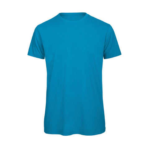 Sky Blue Short Sleeve Round Neck Shirt