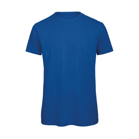 Royal Blue Short Sleeve Round Neck Shirt